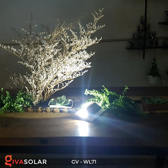 Đèn LED COB gắn tường năng lượng mặt trời GV-WL71 14