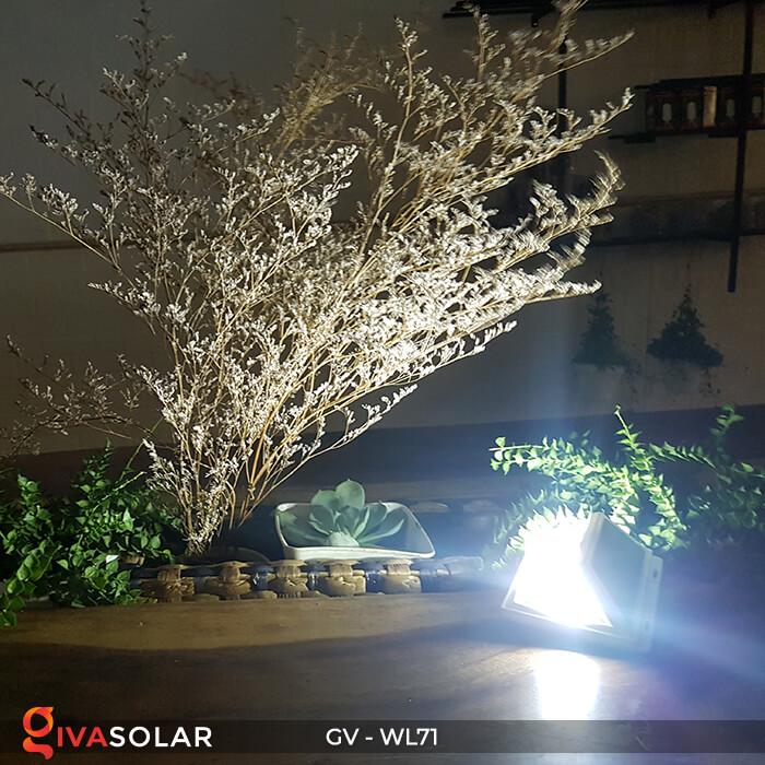 Đèn LED COB gắn tường năng lượng mặt trời GV-WL71 16