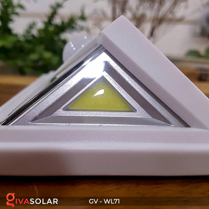 Đèn LED COB gắn tường năng lượng mặt trời GV-WL71 18
