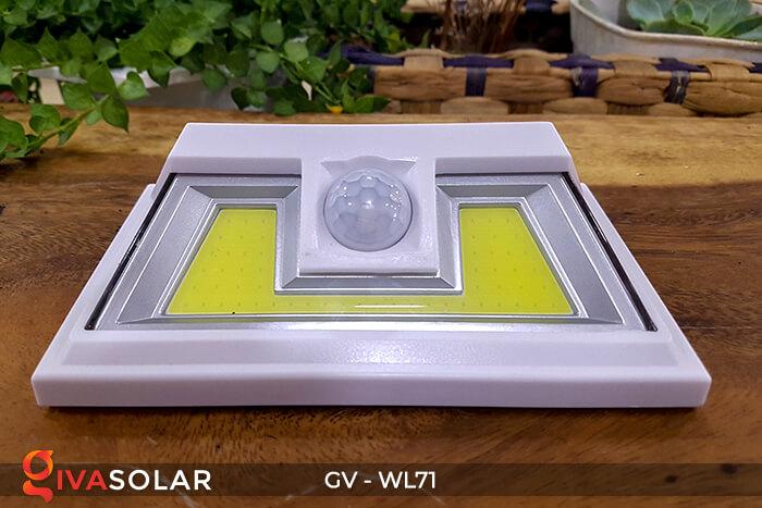 Đèn LED COB gắn tường năng lượng mặt trời GV-WL71 2