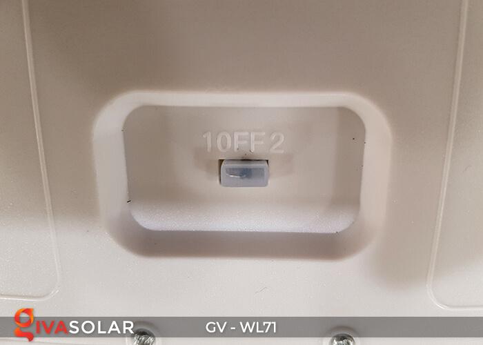 Đèn LED COB gắn tường năng lượng mặt trời GV-WL71 22