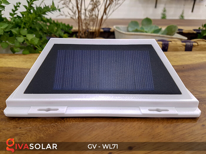 Đèn LED COB gắn tường năng lượng mặt trời GV-WL71 4