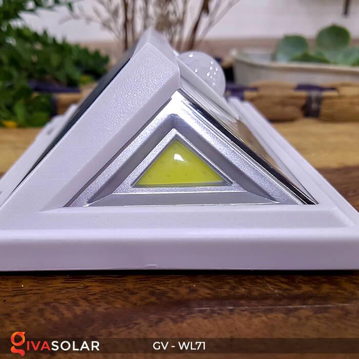 Đèn LED COB gắn tường năng lượng mặt trời GV-WL71 5