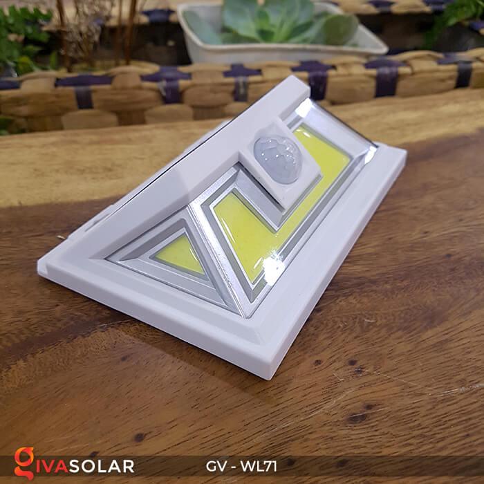 Đèn LED COB gắn tường năng lượng mặt trời GV-WL71 6