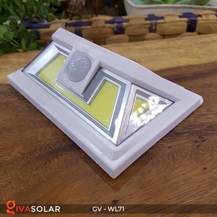 Đèn LED COB gắn tường năng lượng mặt trời GV-WL71 7