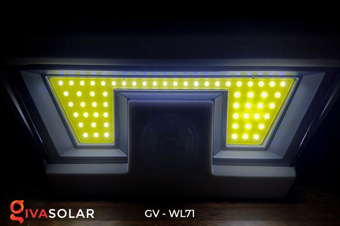Đèn LED COB gắn tường năng lượng mặt trời GV-WL71 8