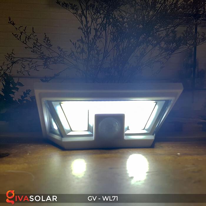 Đèn LED COB gắn tường năng lượng mặt trời GV-WL71 9