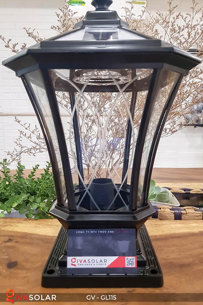 Đèn trụ cổng năng lượng mặt trời sang trọng GV-GL115 4
