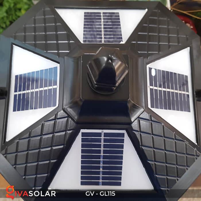 Đèn trụ cổng năng lượng mặt trời sang trọng GV-GL115 5