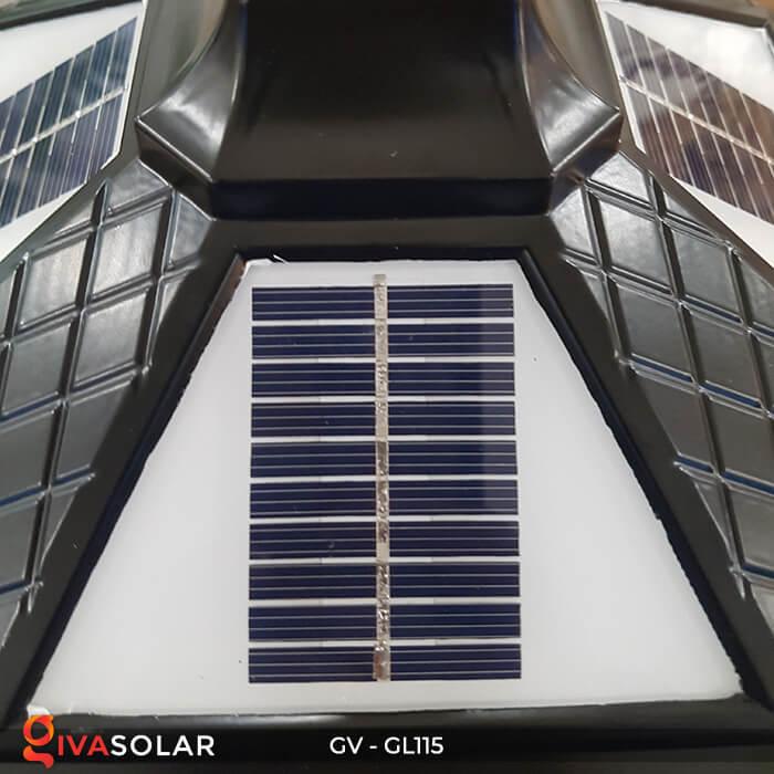 Đèn trụ cổng năng lượng mặt trời sang trọng GV-GL115 6