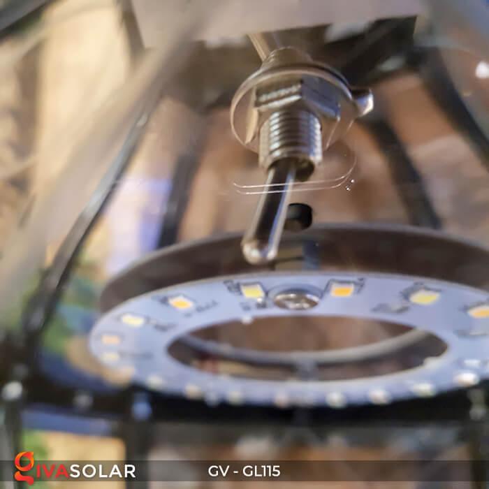 Đèn trụ cổng năng lượng mặt trời sang trọng GV-GL115 9