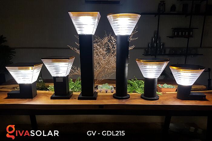 Đèn trụ tròn năng lượng mặt trời GV-GDL215 11
