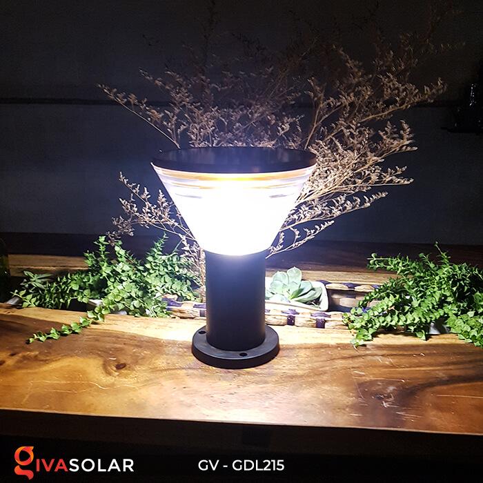Đèn trụ tròn năng lượng mặt trời GV-GDL215 2