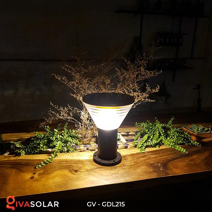 Đèn trụ tròn năng lượng mặt trời GV-GDL215 3
