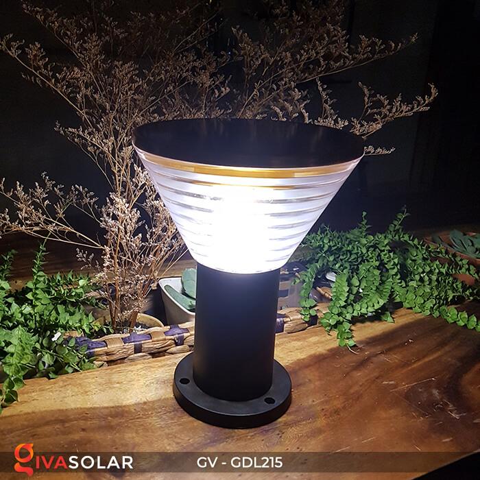 Đèn trụ tròn năng lượng mặt trời GV-GDL215 4