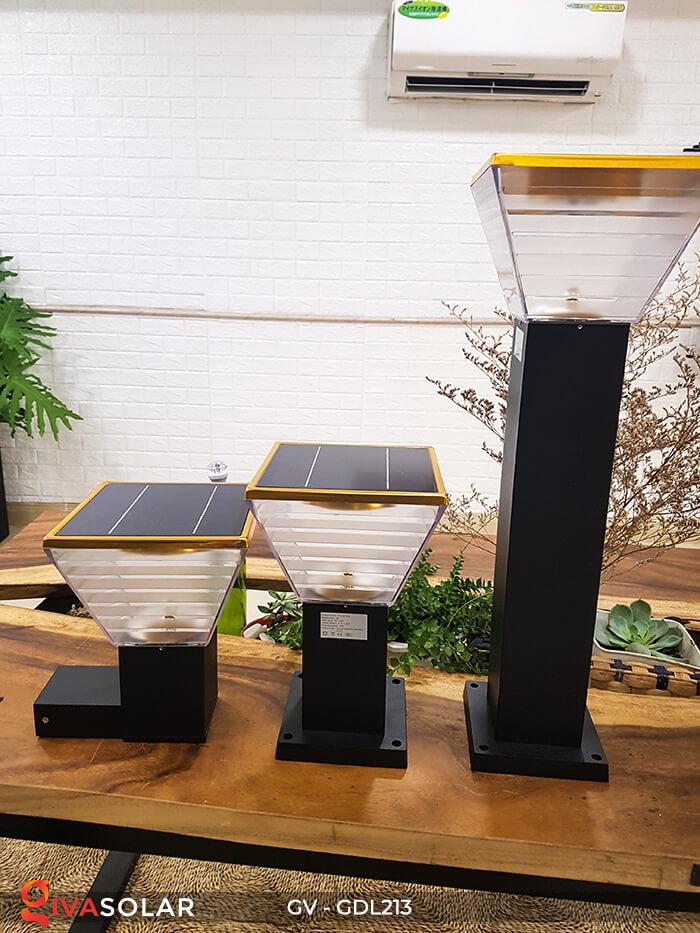 Đèn trụ sân vườn năng lượng mặt trời GV-GDL213 10