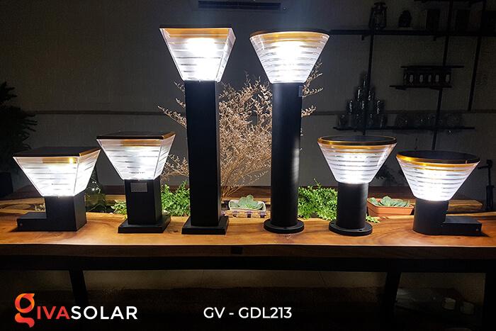 Đèn trụ sân vườn năng lượng mặt trời GV-GDL213 11