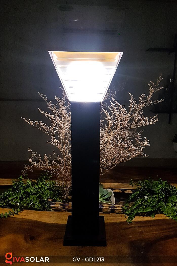Đèn trụ sân vườn năng lượng mặt trời GV-GDL213 3