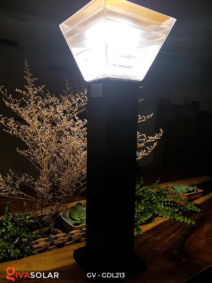 Đèn trụ sân vườn năng lượng mặt trời GV-GDL213 5