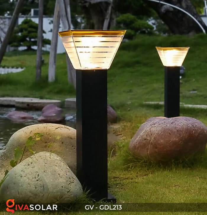 Đèn trụ sân vườn năng lượng mặt trời GV-GDL213 6