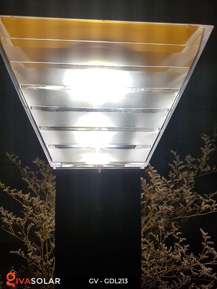Đèn trụ sân vườn năng lượng mặt trời GV-GDL213 7