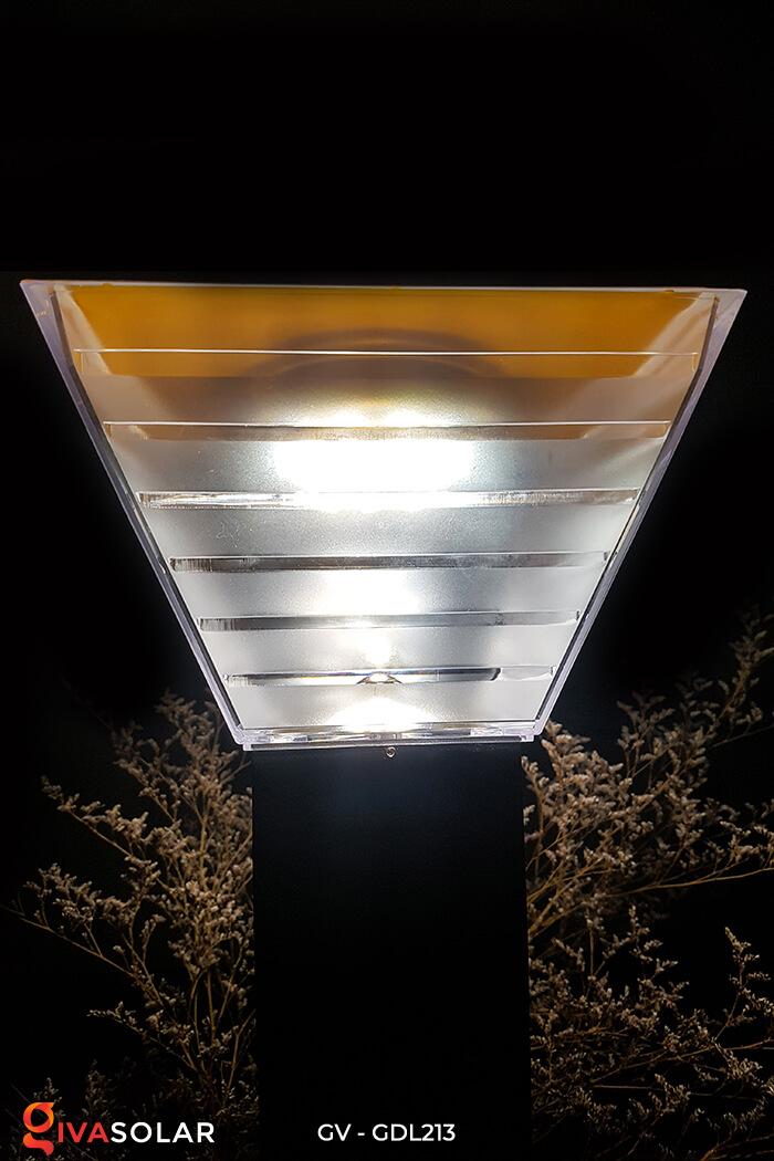 Đèn trụ sân vườn năng lượng mặt trời GV-GDL213 8