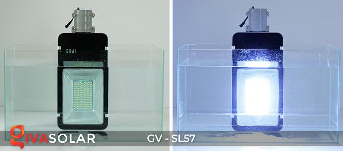 Đèn đường Led chạy năng lượng mặt trời GV-SL57 15