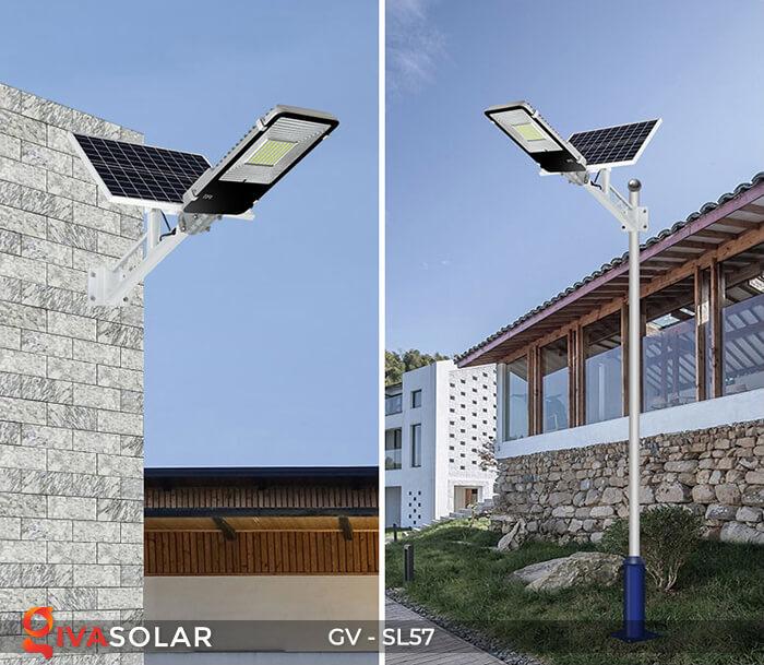 Đèn đường Led chạy năng lượng mặt trời GV-SL57 17