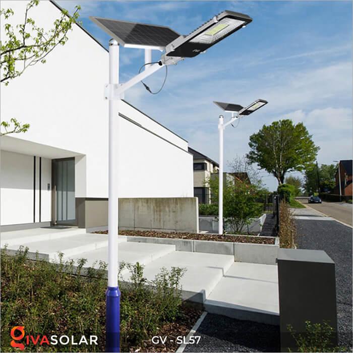 Đèn đường Led chạy năng lượng mặt trời GV-SL57 18