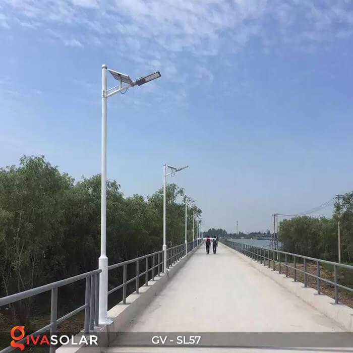 Đèn đường Led chạy năng lượng mặt trời GV-SL57 20