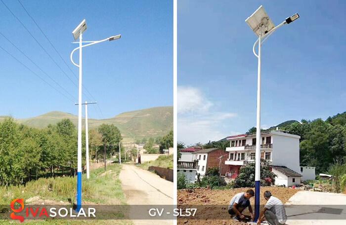 Đèn đường Led chạy năng lượng mặt trời GV-SL57 21