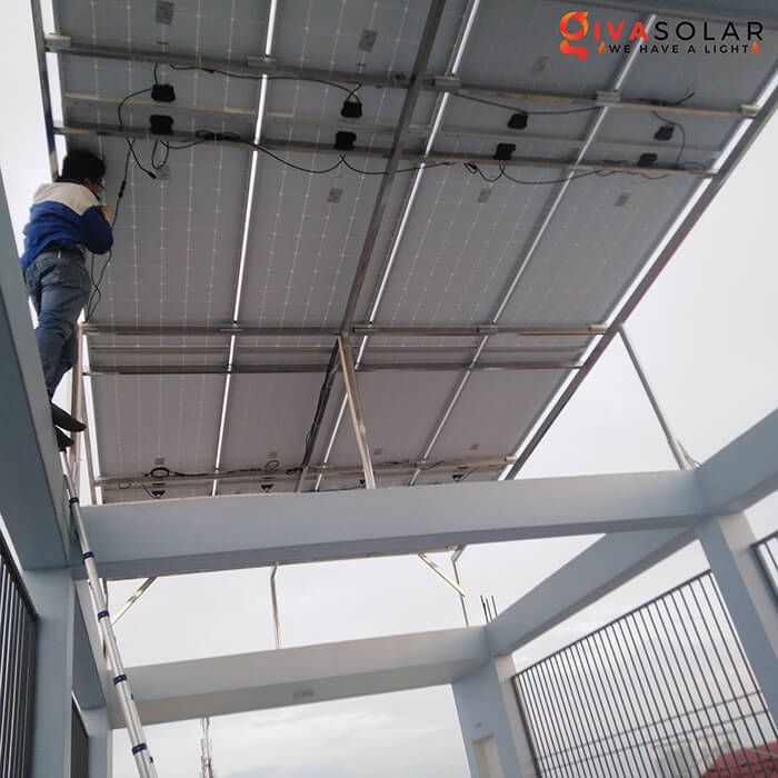dự án lắp đặt hệ thống Hòa lưới 5KW ở Bình Chánh 3