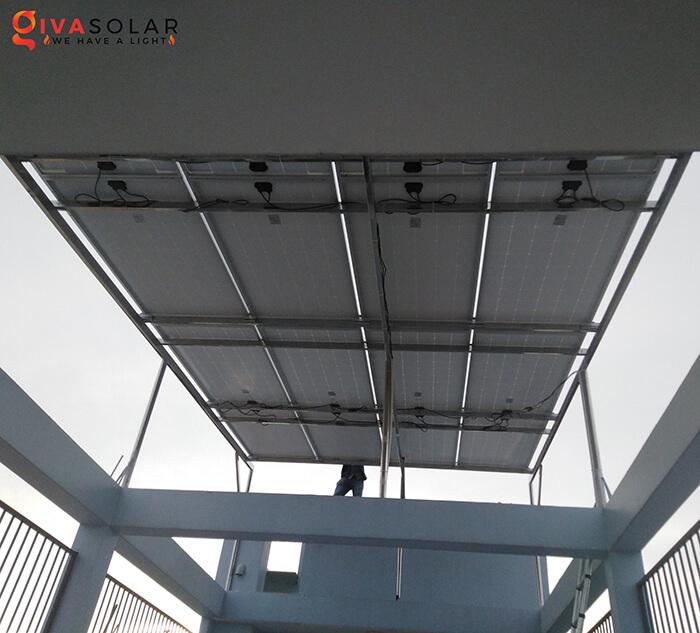dự án lắp đặt hệ thống Hòa lưới 5KW ở Bình Chánh 4