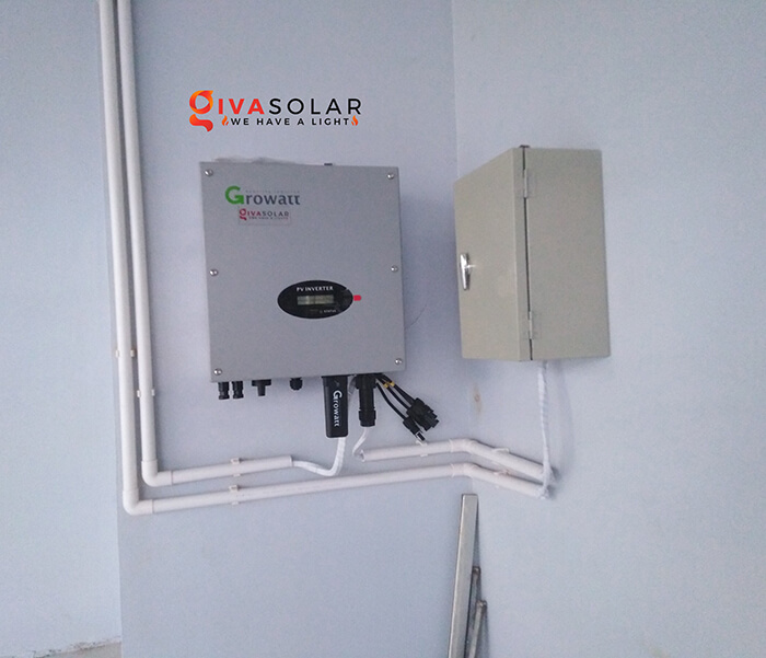 dự án lắp đặt hệ thống Hòa lưới 5KW ở Bình Chánh 8