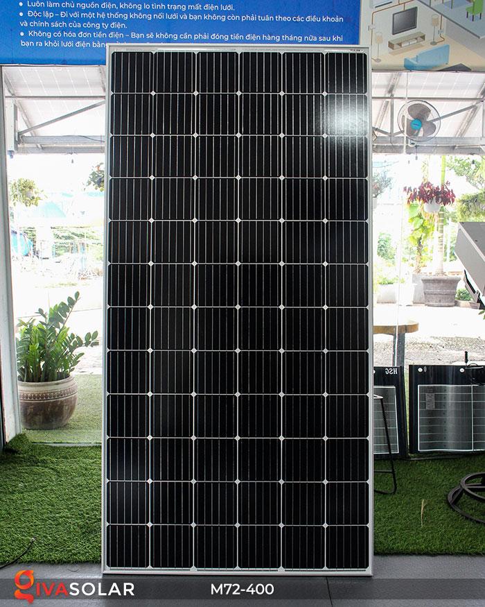 Tấm pin mặt trời hiệu suất cao Mono 400W 1
