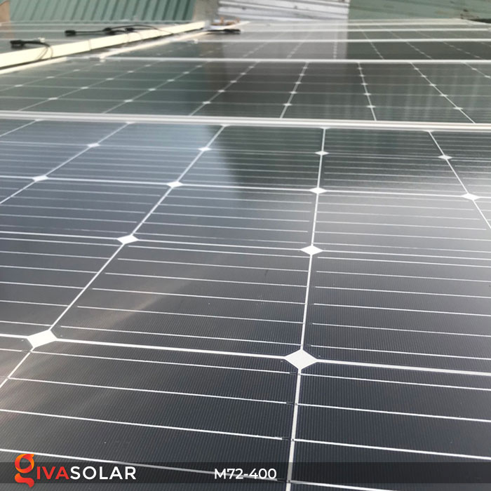 Tấm pin mặt trời hiệu suất cao Mono 400W 11