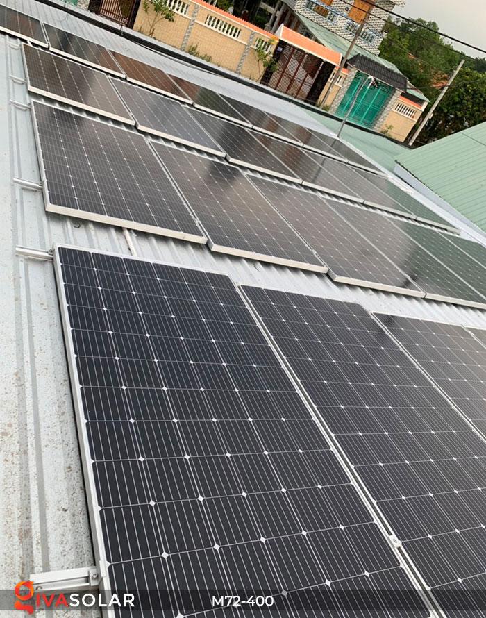 Tấm pin mặt trời hiệu suất cao Mono 400W 12