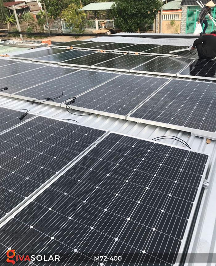 Tấm pin mặt trời hiệu suất cao Mono 400W 13