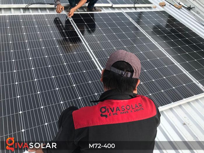 Tấm pin mặt trời hiệu suất cao Mono 400W 14