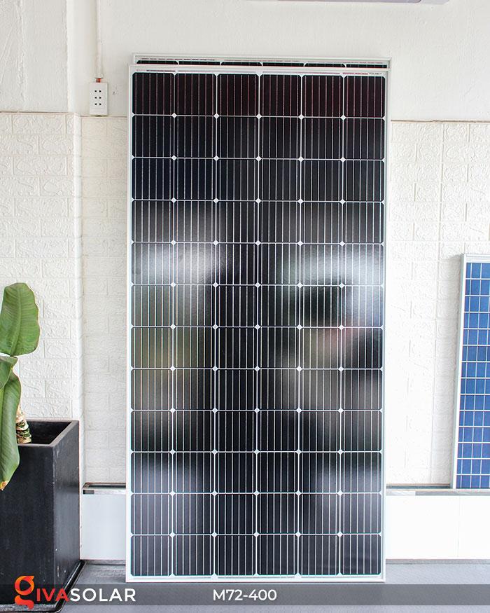 Tấm pin mặt trời hiệu suất cao Mono 400W 2
