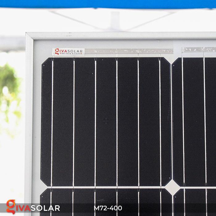 Tấm pin mặt trời hiệu suất cao Mono 400W 3