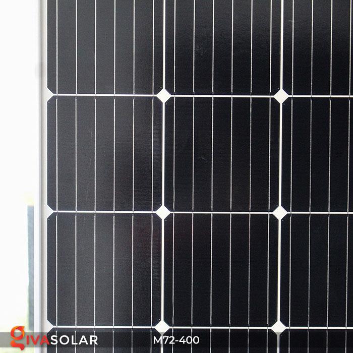 Tấm pin mặt trời hiệu suất cao Mono 400W 5