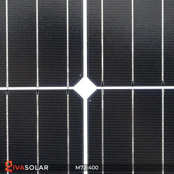 Tấm pin mặt trời hiệu suất cao Mono 400W 6