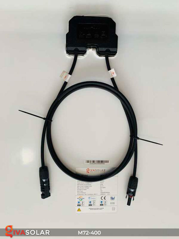 Tấm pin mặt trời hiệu suất cao Mono 400W 7