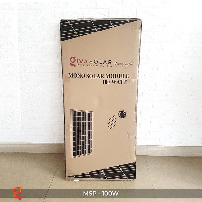 tấm pin mặt trời mono 100w 2