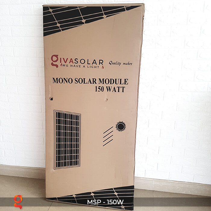 Tấm pin thu năng lượng mặt trời MONO 150W 1