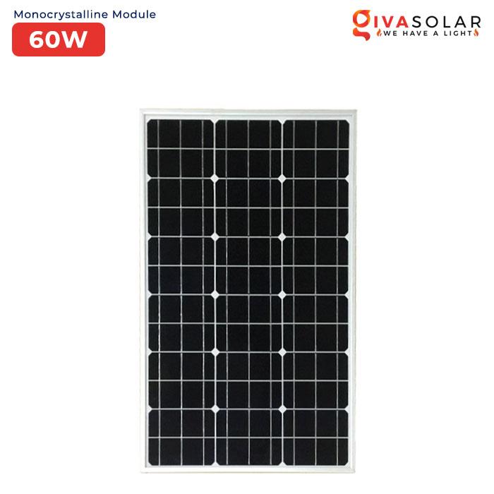 Panel năng lượng mặt trời Mini MONO MSP-60W