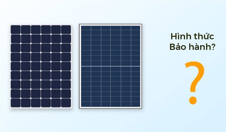 tấm pin năng lượng mặt trời được bảo hành như thế nào 1