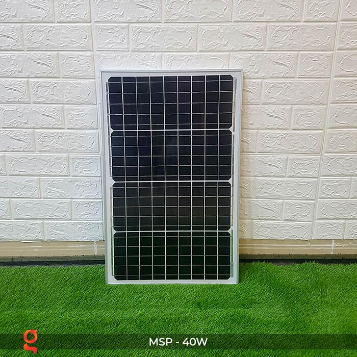 Tấm pin mặt trời mini Mono 40W 1