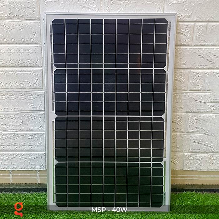 Tấm pin mặt trời mini Mono 40W 2